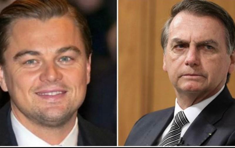 Leonardo DiCaprio critica Bolsonaro e divulga texto sobre queimadas na Amazônia