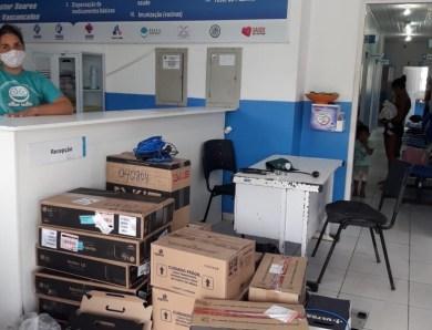 FCCV instala computadores na UBS Nestor Soares para permitir utilização de prontuário eletrônico