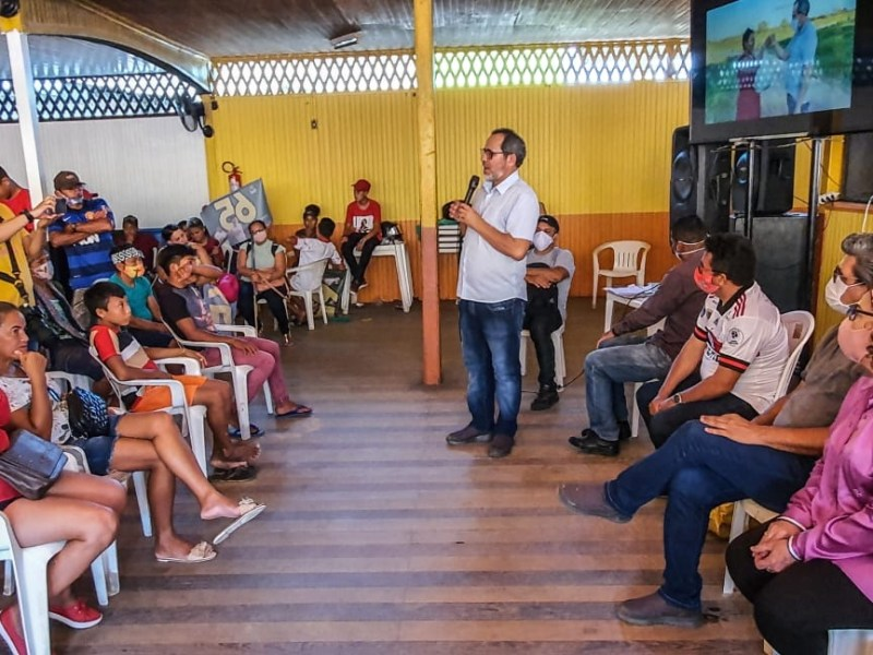 """""""Foi um momento de alavancar a campanha"""", diz Edvaldo sobre plenária em Tarauacá"""