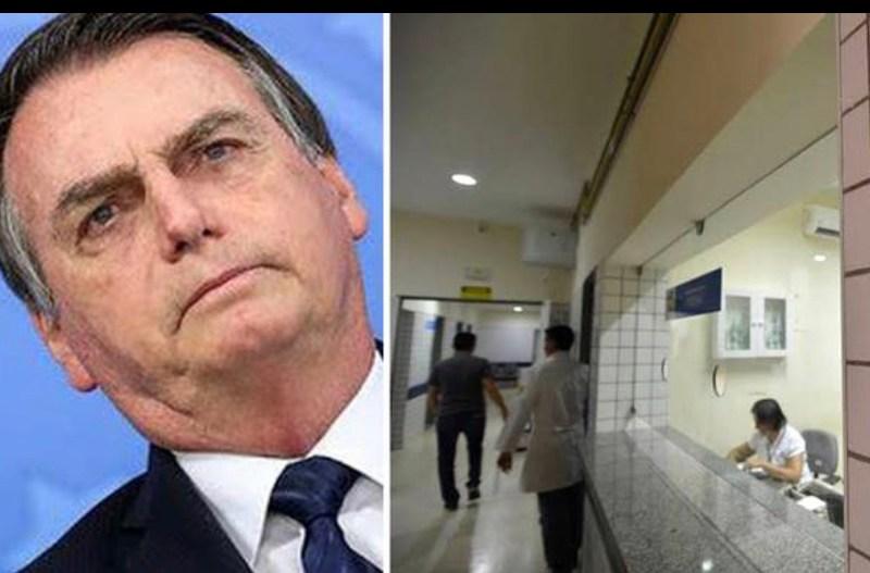 Bolsonaro recua e anuncia revogação de decreto que abre caminho para privatizar o SUS
