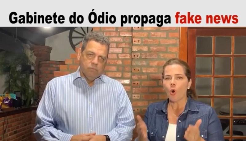 Rocha denuncia gabinete do ódio e diz que sites e jornalistas são pago com dinheiro público para atacar à sua família