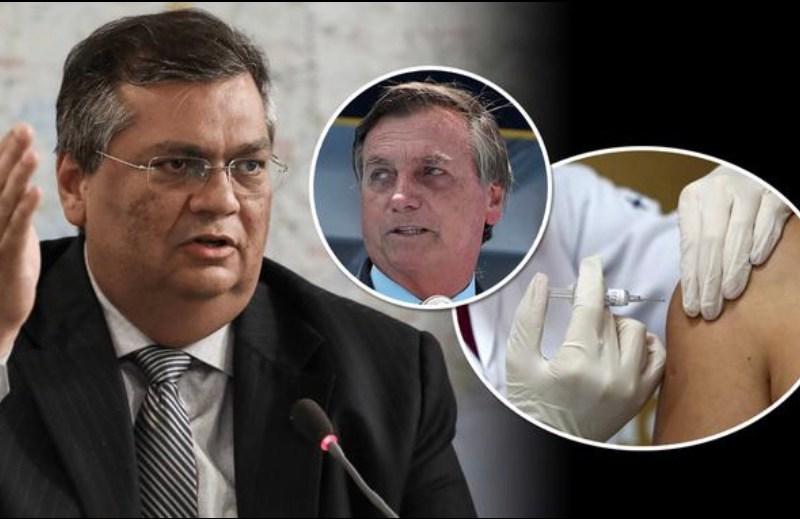 Flávio Dino vai ao STF para que governadores comprem vacinas sem autorização da Anvisa