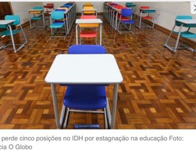 IDH: Brasil cai cinco posições no ranking da ONU com estagnação na educação