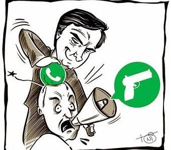 Cerco se fecha contra a milícia bolsonarista