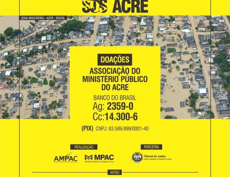 Campanha SOS Acre é lançada pelo MPAC em parceria com TJAC