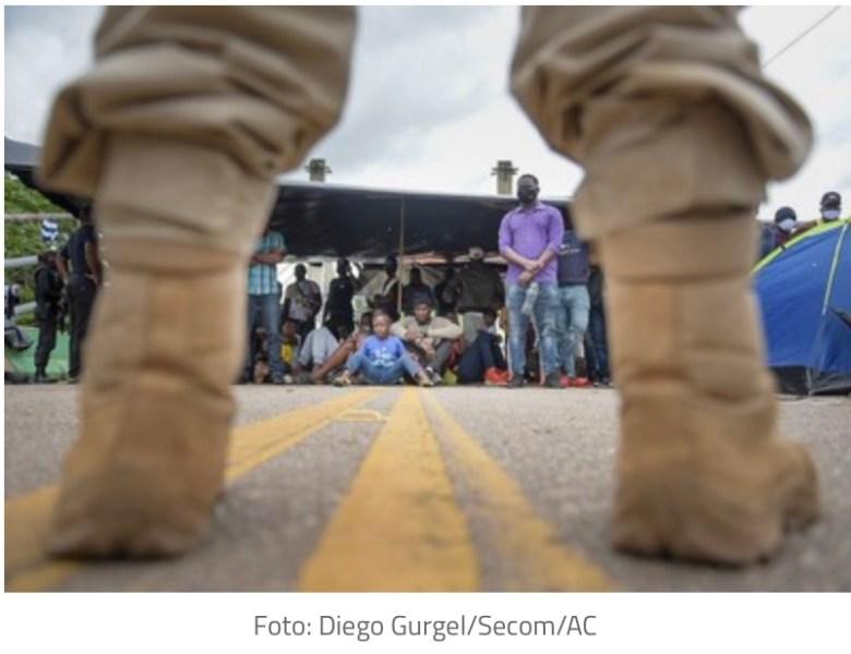 MPF opina pela permanência dos migrantes na ponte de Assis Brasil (AC) e fronteira com o Peru
