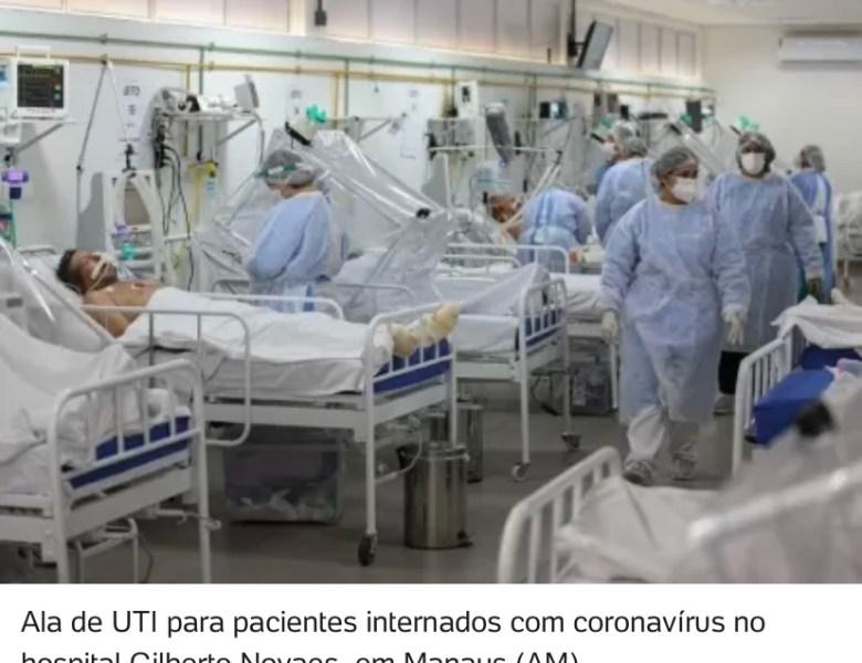 Em um ano de covid, 2 a cada 3 doentes intubados em UTI morreram no Brasil