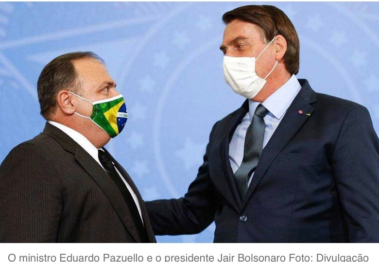 Pressionado, Pazuello alega problemas de saúde e pede para deixar ministério