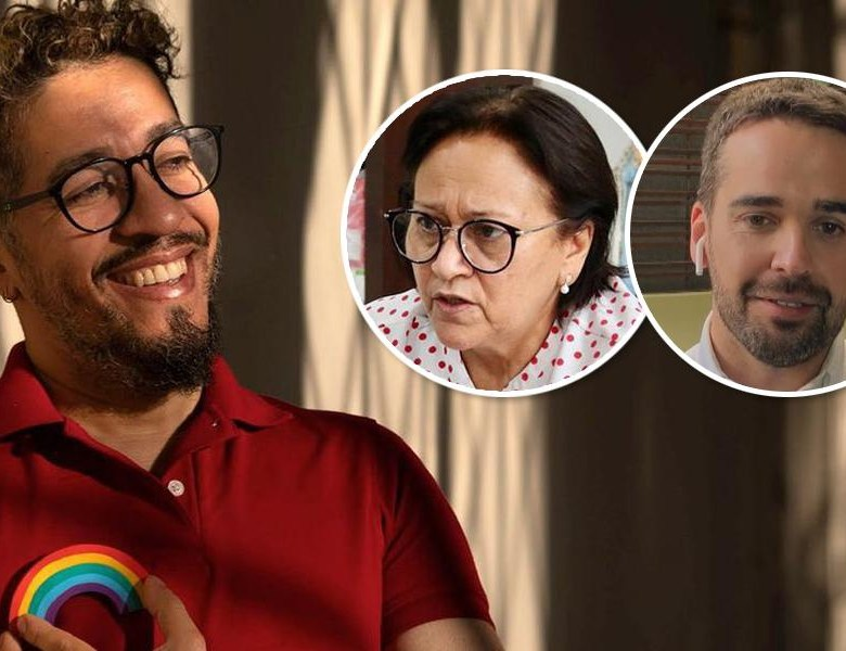 Wyllys: mídia comercial festeja Eduardo Leite gay, mas não questiona seu apoio a um homofóbico e esconde Fátima Bezerra lésbica