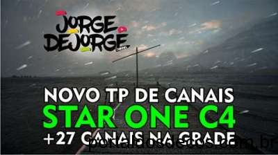 Novo TP de canais do Star One C4 70W