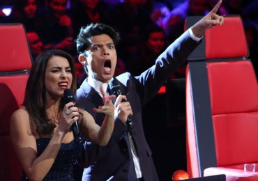 Catarina Furtado e Vasco Palmeirim - The Voice Portugal