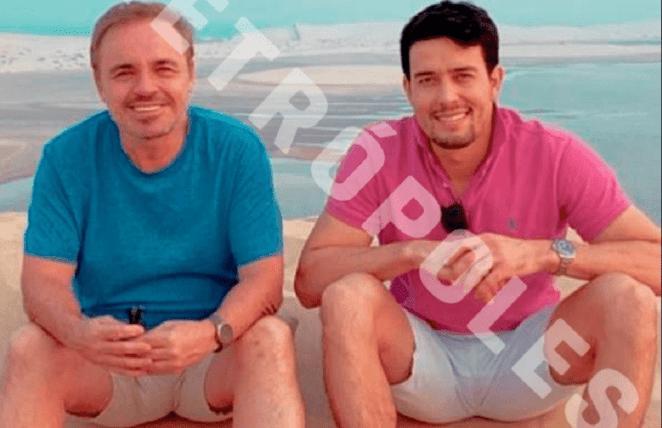 Gugu Liberato em viagem com suposto namorado, Thiago Salvatico.