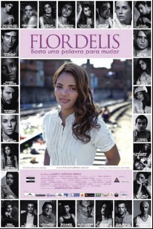 Cartaz do filme gospel de Flordelis.