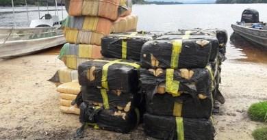 Exército apreende mais de 460 quilos de skunk em São Gabriel da Cachoeira
