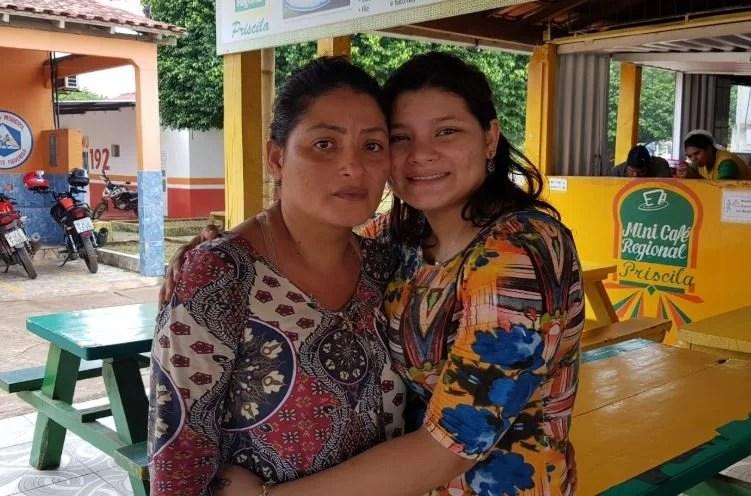Filha reencontra mãe desaparecida no Ramal do Paulista em Presidente Figueiredo
