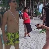 Biquíni fio dental leva turista a ser multada em praia