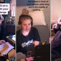 Nudez no home office vira brincadeira viral durante a quarentena