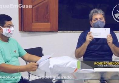 ROMEIRO PRETENDE PAGAR TERCEIRA PARCELA DO AUXÍLIO EMERGENCIAL MUNICIPAL