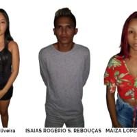 AÇÃO DA POLÍCIA MILITAR PÕE TRÊS ATRÁS DAS GRADES POR TRÁFICO DE ENTORPECENTES EM PRESIDENTE FIGUEIREDO