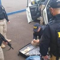 Exclusivo: Polícia Rodoviária Federal prende cinco bandidos envolvidos em assalto em Criciúma