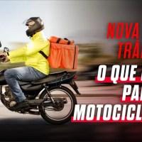 Nova lei de trânsito: o que muda para quem tem ou trabalha com uma moto