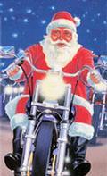 Babbo Natale in moto clip
