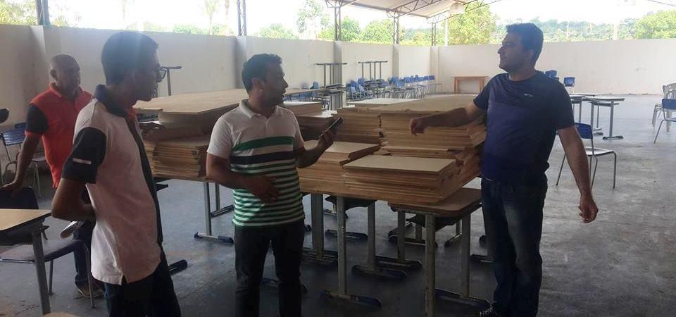 Prefeitura de Afonso Cunha inicia preparação de escolas para o ano letivo de 2019