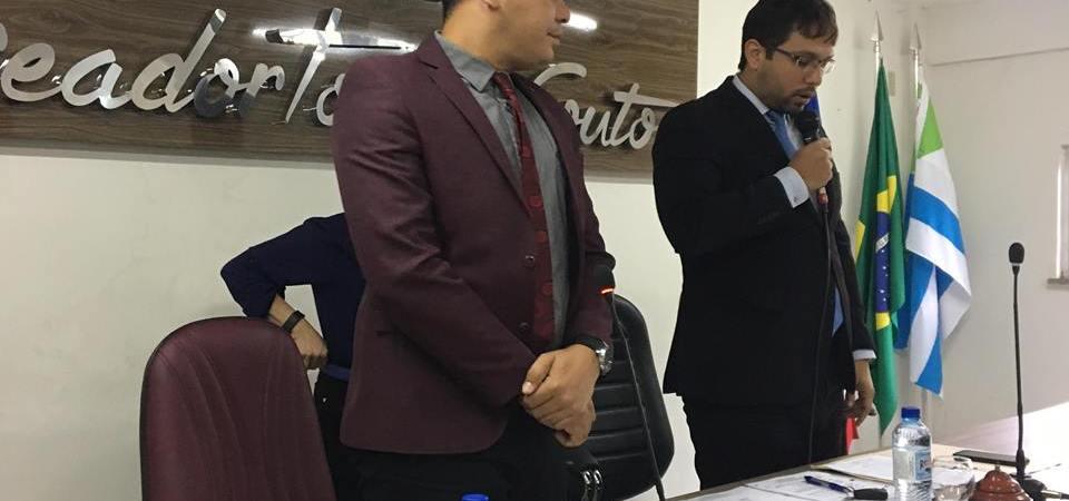 Vereadores de Coelho Neto se reúnem extraordinariamente e aprovam matérias de interesse do Legislativo