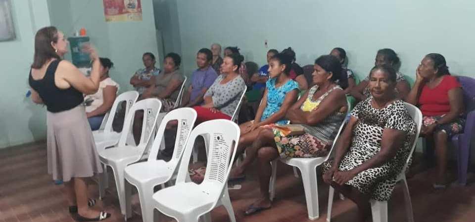 Secretaria de Saúde promove atividade coletiva com hipertensos e diabéticos de Afonso Cunha