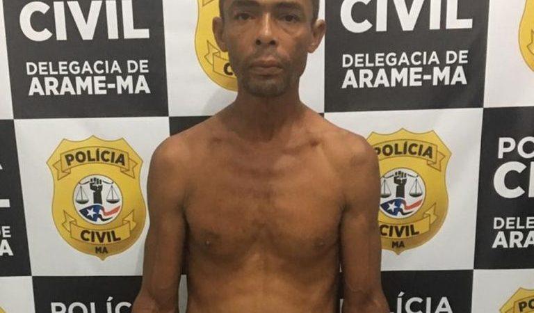 Suspeito de estuprar enteadas de 10 e 12 anos é preso no Maranhão