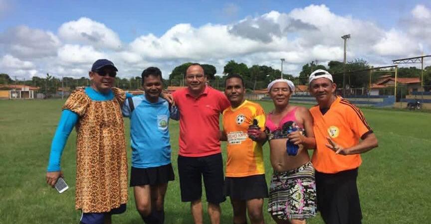 Vice-prefeito prestigia atividade esportiva em Coelho Neto