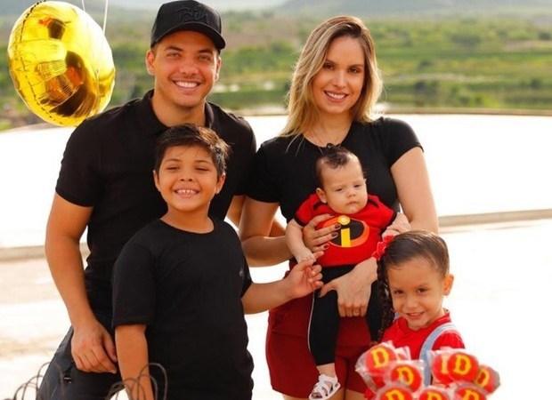 Filhos de Wesley Safadão são internados em hospital de Fortaleza
