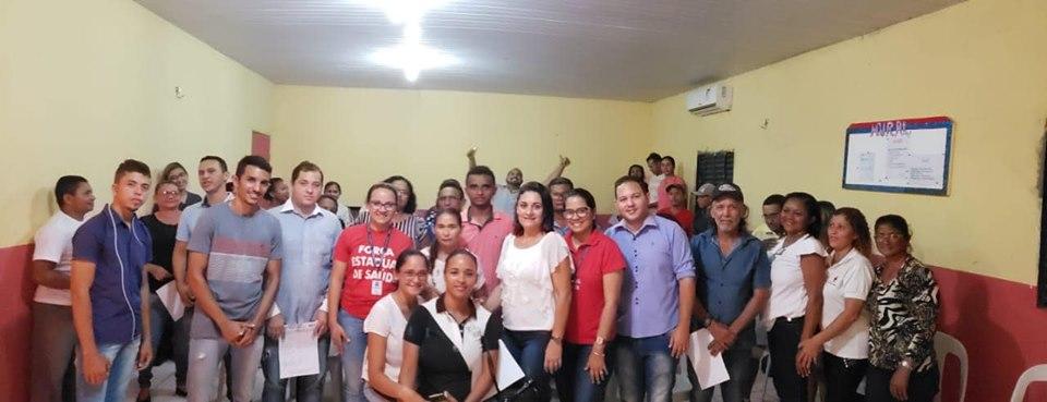 Secretaria de Saúde de Afonso Cunha se reúne para alinhamento de ações de trabalho