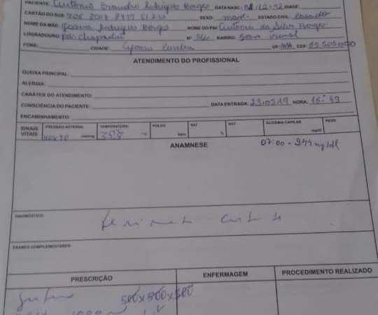 Prefeitura de Afonso Cunha emite nota e esclarece factoide sobre não atendimento a acidentado