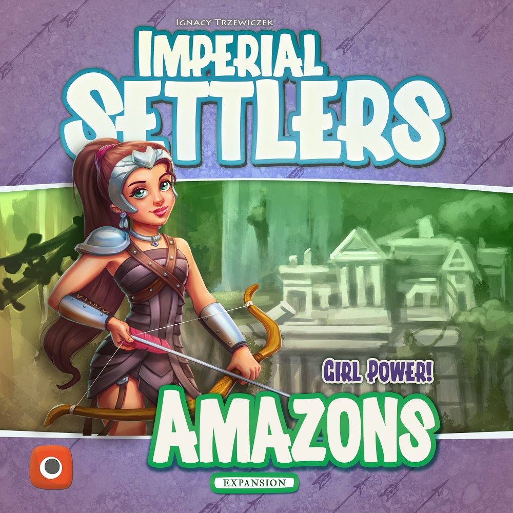 Osadnicy: Narodziny Imperium - Amazonki cover