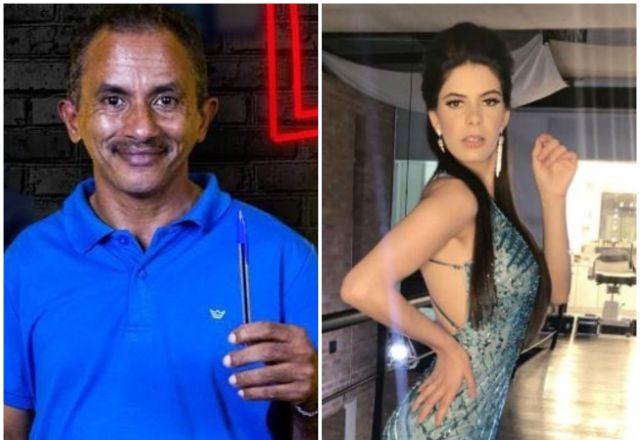 Manoel Gomes e Jaqueline Santos - Foto Acervo Pessoal