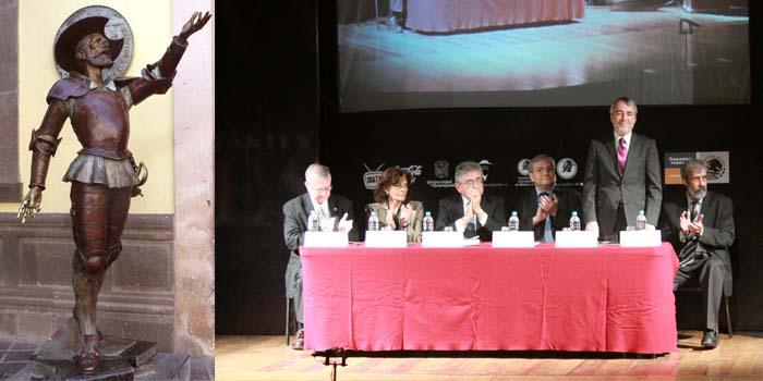 Inauguran XXII Coloquio Cervantino Internacional. Estudian la vida y la obra de Cervantes
