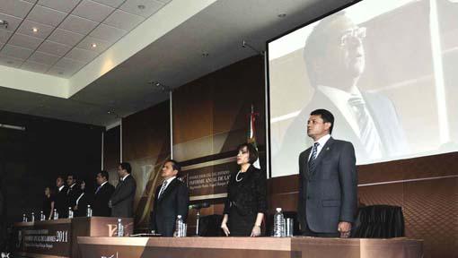 Gobernador del estado subraya logros en la gestión del Poder Judicial