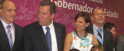 Se registra Márquez como candidato a la gubernatura