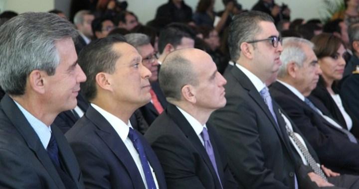 Asiste el Rector de la Universidad de Guanajuato al Informe de labores del Presidente del STJE