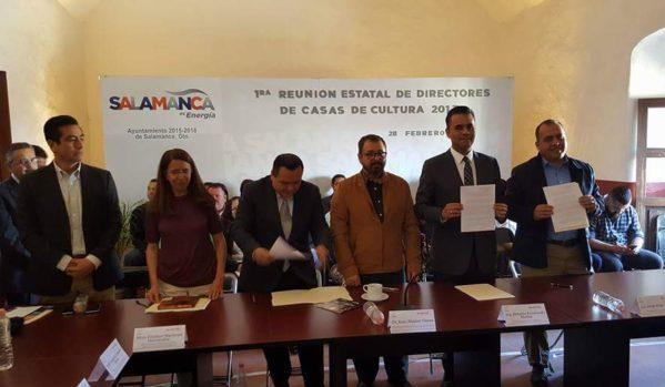 Realiza IEC primera Reunión Estatal de Directores de Casas de Cultura
