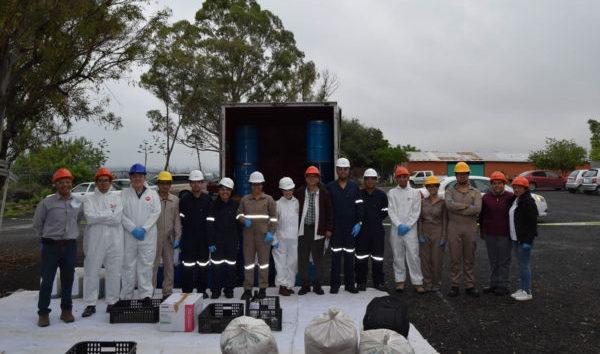 Participa comunidad UG en cumplimiento de disposición de residuos peligrosos en Irapuato