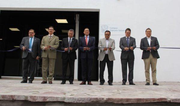 Inaugura UG espacios en la ENMS de San Luis de la Paz