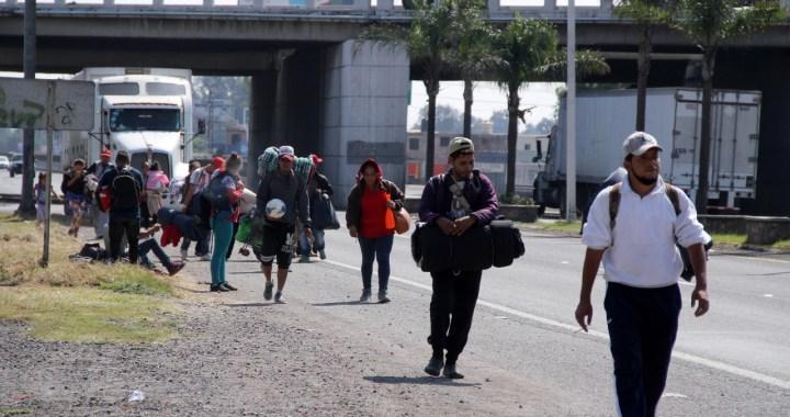 Migrantes en tránsito se tratan con humanismo y dignidad: gobernador