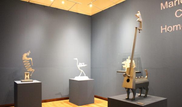 Rinde Mario Martín del Campo homenaje a Juan Ibáñez con exposición