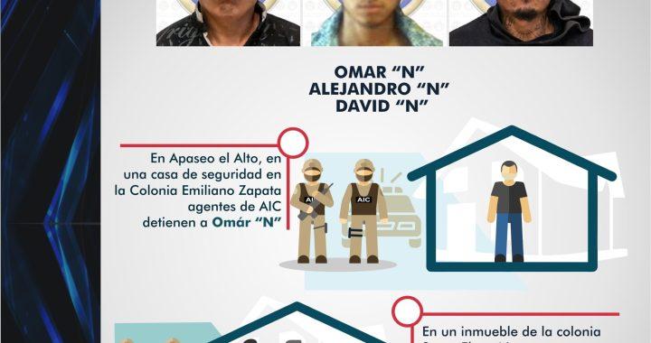 Vinculan a proceso penal a tres secuestradores de Apaseo el Alto