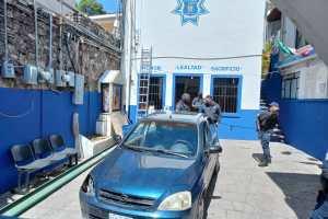 Detienen a tres por intento de robo en propiedad de la UG