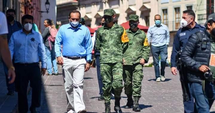El Ejército Mexicano llega a la capital