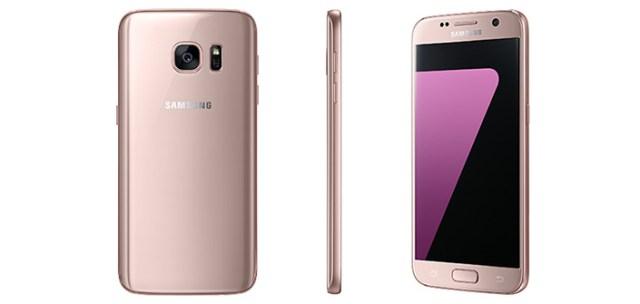 samsung galaxy 7 rosa oro