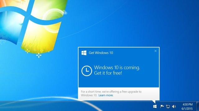 Windows 10 Actualización Forzada